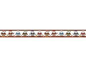 Teacher Created Resources Santa Trio Straight Border Trim from Mary Engelbreit, Multi Color (4069)
