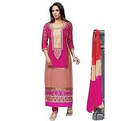 StarMart Beautiful Cotton ASHQUI Dress Material - 2502