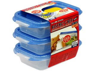 Food Storage Containers Set Of 3 Freezer And Microwave Safe Made In Japan