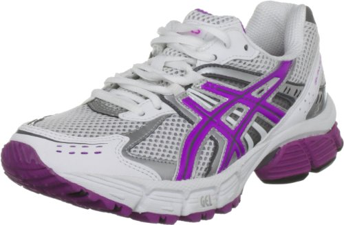 ASICS Women's Gel Pulse White/Lightning/Plum Trainer T184N 0136 4.5 UK