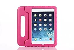 Eastchina AAA Quality EVA Light Weight Shock Proof Stand Case Cover for iPad Mini 4 Tablet, Good for Kids / Students Use | iPad Mini 4 EVA Stand Case, Cover, Protector Case (Rose)