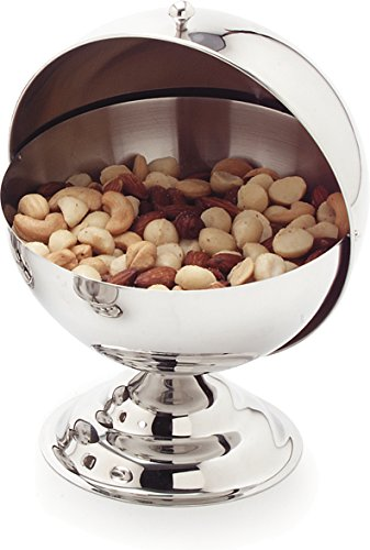 Carlisle 609133 Stainless Steel Jumbo Roll-Top Covered Dish, 30-oz. Capacity, 6-1/2 x 7 x 8-3/4