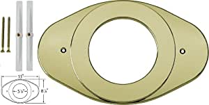 Delta Faucet RP29827PB Shower Renovation Cover Plate, Polished Brass