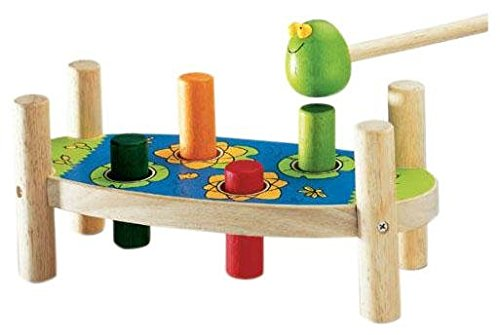 Djeco DJ06301 Early Development-Tac Boum Nut Baby Toy