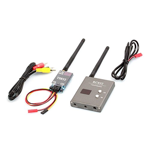 Best Price AUTO-VOX Boscam 32Ch 5.8G 600mw 5km Wireless AV Transmitter TS832 Receiver RC832 for FPV ...