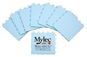 Mylec Modular Shooting Mat System, White by Mylec