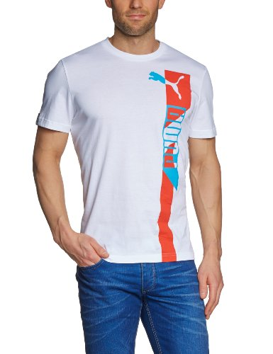 Puma-824009-T-Shirt-manches-courtes-SportsCasual-Graphic-pour-homme