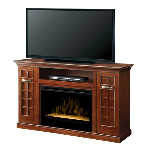 Dimplex Yardley Electric Fireplace & Entertainment Center - Glass Embers (GDS33G-1304CH) image B00F3E5UW6.jpg