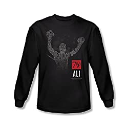 Muhammad Ali 70 Arms Raised Long Sleeve T-Shirt