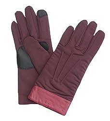Echo Design Women's Echo Touch Superfit Glove, Medium, Boysenberry
