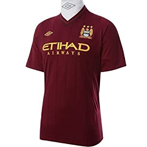 Manchester City Away Football Shirt 2012-13