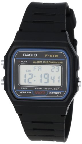 Casio F91W 1 Classic Black Digital