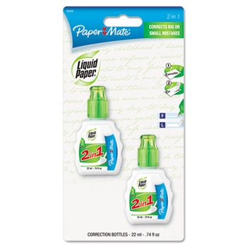 paper-mate-liquid-paper-2-in-1-correction-combo-22-ml-bottle-white-2-count