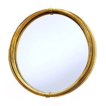 Culinary Concepts Strand Large Gold Wall Mirror