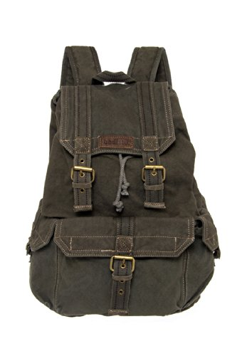 Bed|Stu Unisex Ohara Canvas Backpack