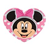 ディズニー Disney USディズニーストア公式 ミニーマウス メラミンプレート キラキラ ラメ リボン ハート形 皿 / Minnie Mouse Meal Time Magic コレクション [並行輸入品]