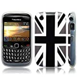 Blackberry Curve 8520 'Cool Britannia Black' (Designed by Creative Eleven) TPU Gel Skin / Case / Cover Part Of The Qubits Accessories Rangeby Qubits