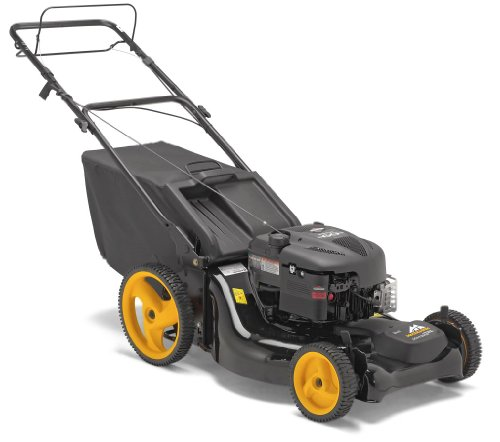 McCulloch Petrol 4 Wheel Rotary Mower 2 in 1 Mulch  &  Collect