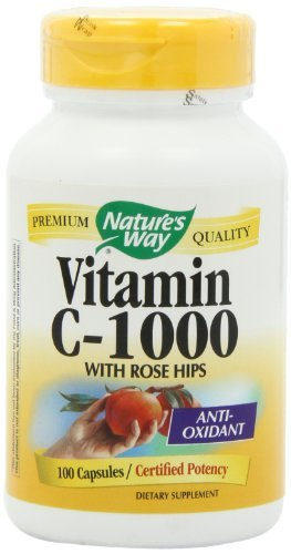 Nature'S Way Vitamin C 1000 With Rose Hips - Pack Of 2