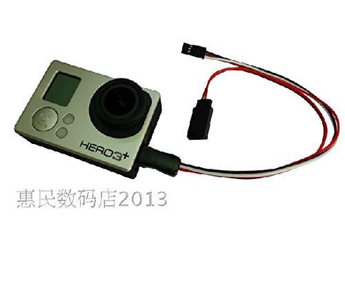 USB to AV Video Ausgang und 5V DC Stromeingangskabel Power BEC FPV für GoPro Hero 3 3+