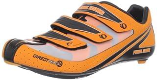 Pearl iZUMi Men's Octane III Road Cycling Shoe,Safety Orange/Black,42.5 EU/9 D US
