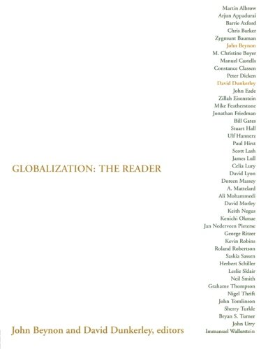 Globalization: The Reader