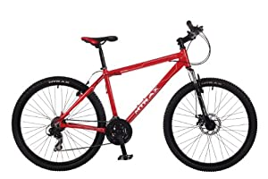 M-Trax Men's Caldera Mountain Bike - Red, 16 Inch
