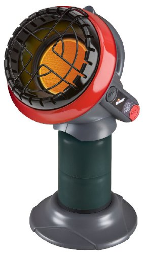 Mr. Heater F215100 MH4B Little Buddy 3800-BTU Indoor-Safe Propane Heater