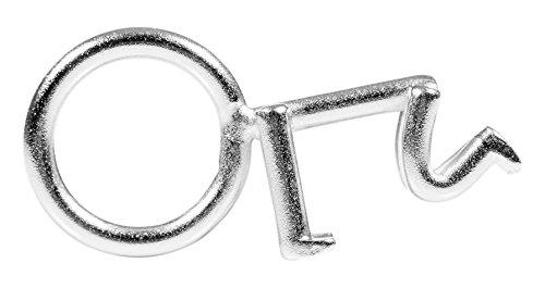 Suck UK-Stick Man-Apribottiglie, in acciaio, colore: grigio, 2,5 x 5 x 0,9 cm