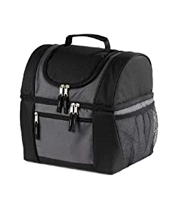 OAGear - Macho Lunch Cooler, Gray/Black