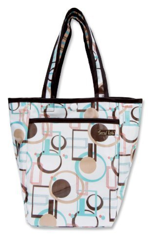 Trend Lab Mini Diaper Tote Bag, Cocoa Dots by Trend Lab (English Manual)