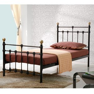 Birlea Atlas Metal Bedstead - Black