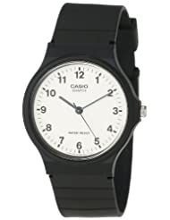 Casio MQ24 7B Analog Black Resin