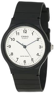 Casio卡西欧 Men's MQ24-7B Resin Strap经典指针石英表 $8.96