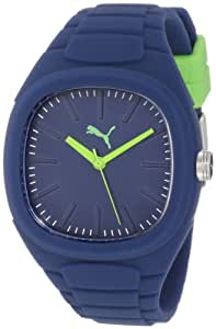 PUMA Unisex PU102881010 Bubble Gum Sports Lifestyle Silicone Analog Watch