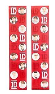 1D One Direction Locker Wallpaper 2 Panels by 1D