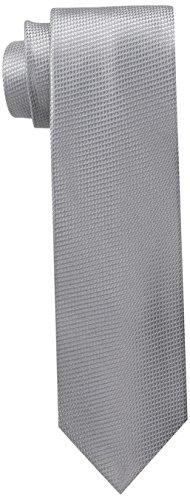 U.S. Polo Assn.. Men's Grendine Like Solid Tie, Grey, One Size
