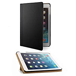 VanGoddy Mary Smart Cover Portfolio KickStand Smart Case For Apple iPad Air (Black)