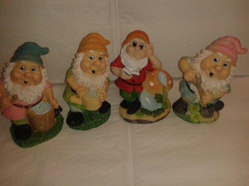 Garden Gnomes - Set of 4