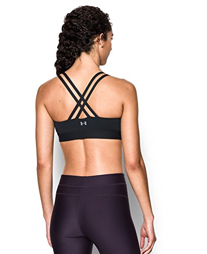 Under Armour Women's Eclipse Low Impact Sports Bra, Black (001), Large