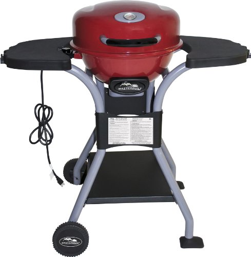 Masterbuilt 20151413R Electric Patio Grill, Red