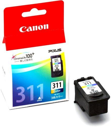 【Amazonの商品情報へ】キヤノン FINE カートリッジ BC-311 3色カラ-