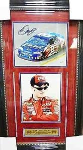 Signed Earnhardt Jr. Photo - Driver Framed 8x10 SOP COA - Autographed NASCAR Photos by Sports Memorabilia