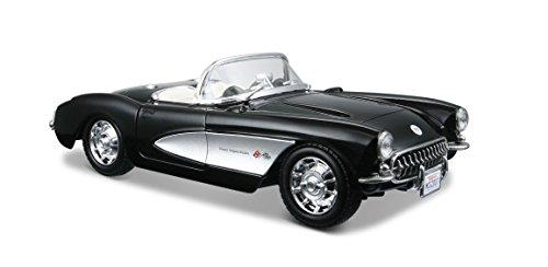 maisto-31275-chevrolet-corvette-57-coche-miniatura-escala-124-colores-surtidos