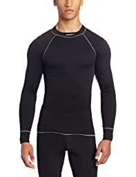 Craft Active Crewneck Long Sleeve, Black, Large