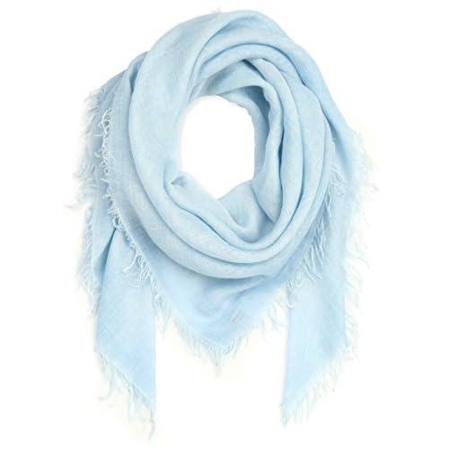 (ファリエロ サルティ)Faliero Sarti ストールLOLLY 125×125 E15-0081-LOLLY 41819 BLUE 125×125
