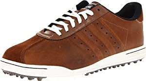 adidas Men's Adicross II WD Golf Shoe,Tan Brown/Black,8.5 W US