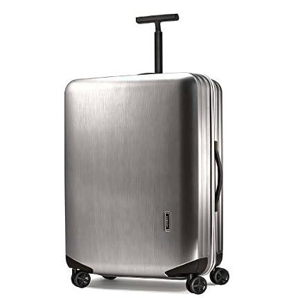 Samsonite 新秀丽 28寸拉杆箱(银色拉丝款) Luggage ...