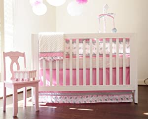 Nursery-To-Go 10 Piece Nursery to Go Crib Bedding Set, Sassy Safari