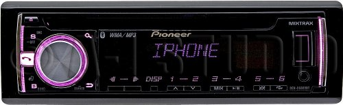 Deh-X6600Bt - Pioneer In-Dash Cd/Mp3/Wma Car Stereo Receiver With Bluetooth, Iphone/Ipod Usb Support, Android Media Access, And Pandora Ready